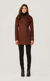 SOIA & KYO Wool Coat Maeva