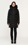 SOIA & KYO down coat with large hood Sydnea