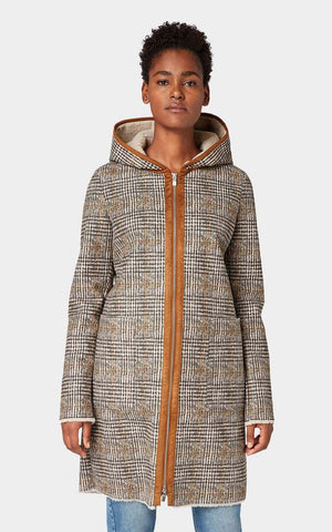 Tom Tailor Shearling Coat with Hood 1012059