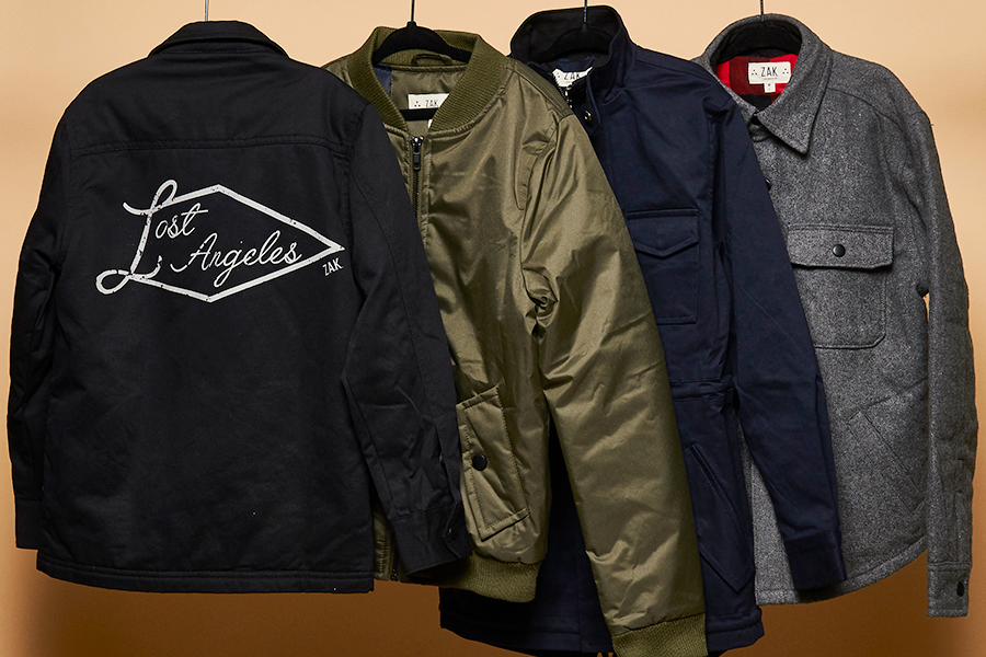 OUTERWEAR & JACKETS