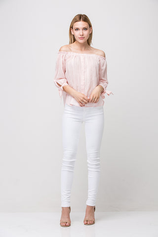 Claire Top - PINK Multi