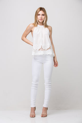 Tess Top - White