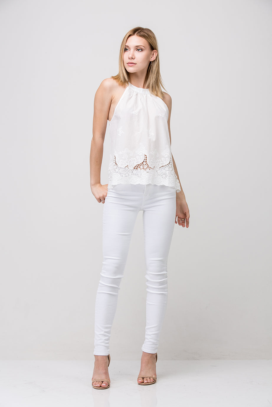 Mandy Top - Off White