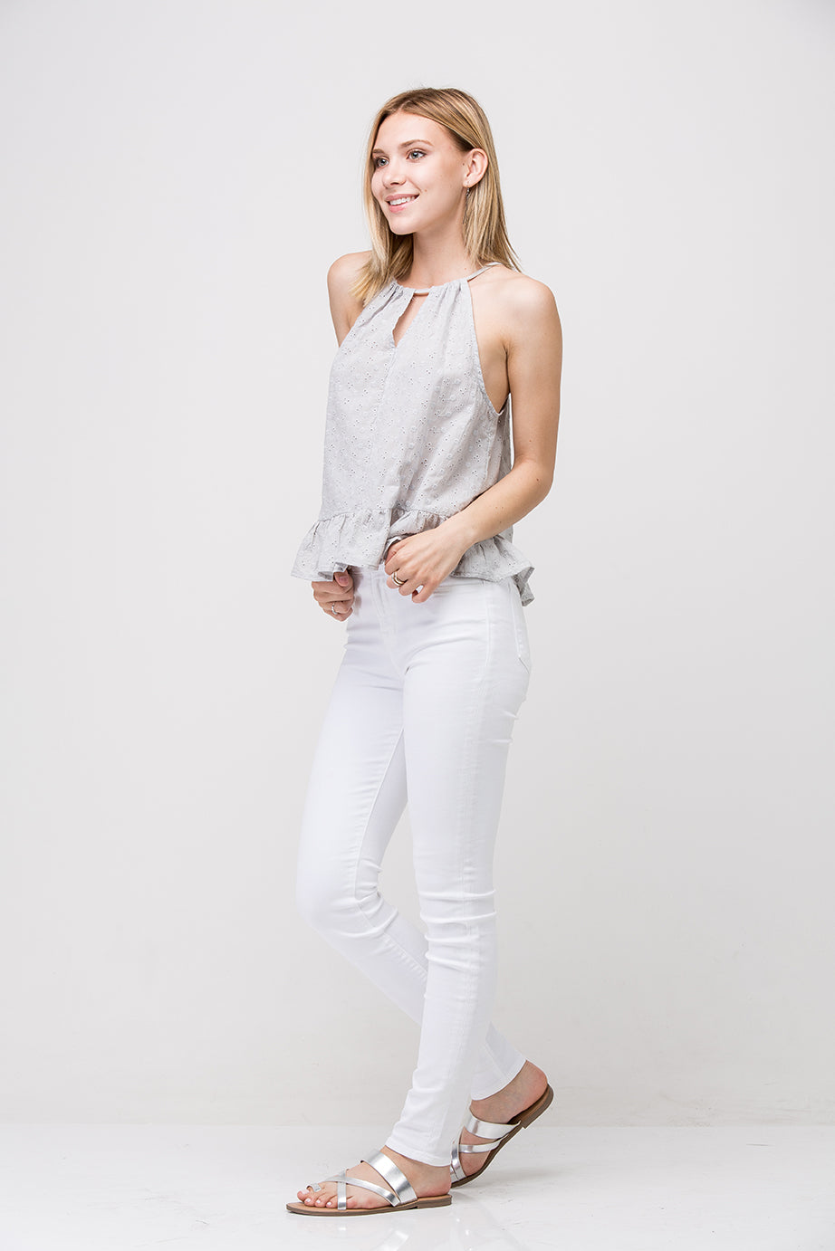 Tess Top - Gray
