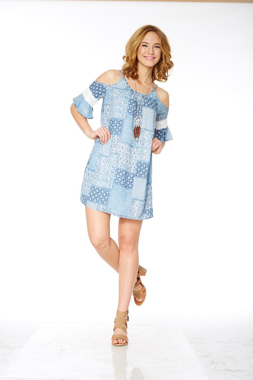 Jessie Dress - Patchwork Print