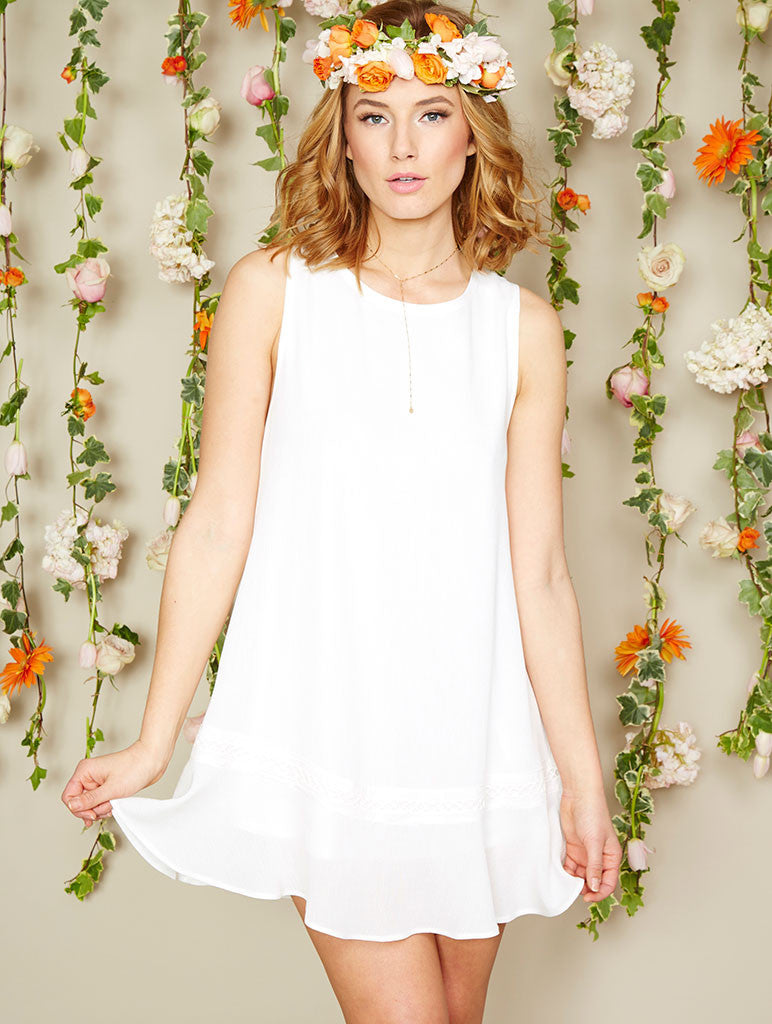 Lila Dress - Off White
