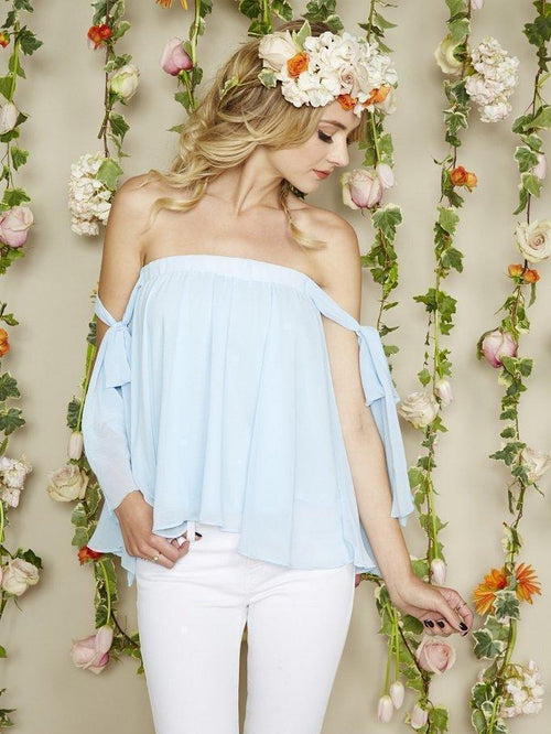Angel Top - Ice Blue
