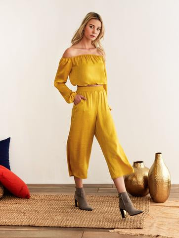 Lily Pant - Gold