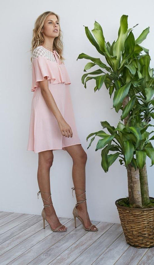 Irene  Dress - Blush