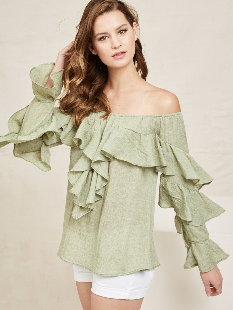 Claudia Top - Green