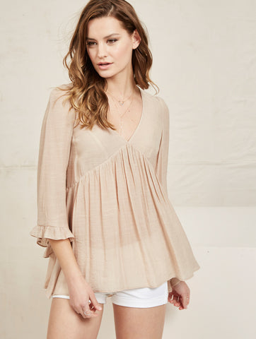 Brie Top - Nude