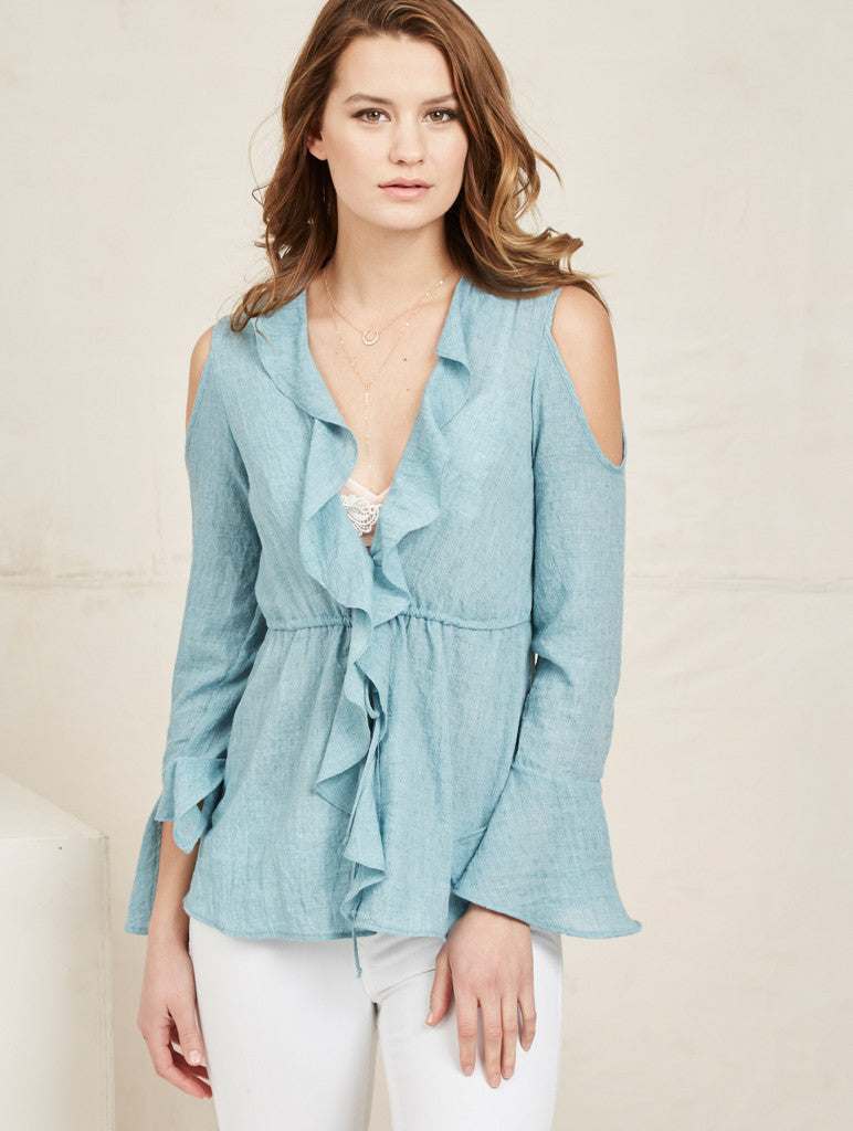 Sahara Top - Blue