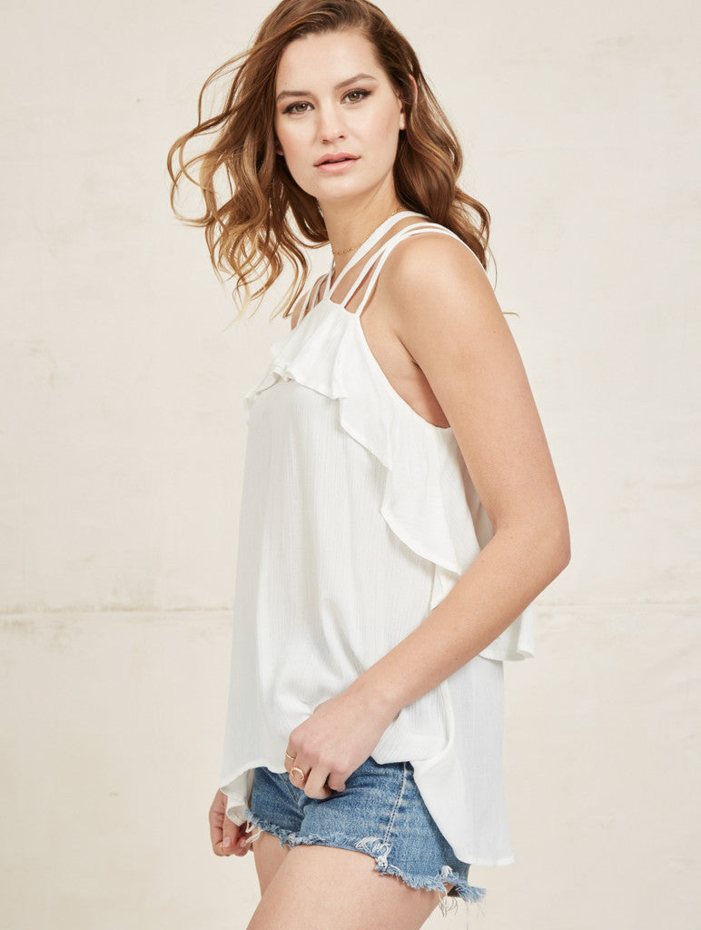 Riley Top - Ivory