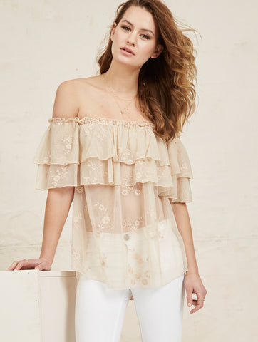Brie Top - Ivory