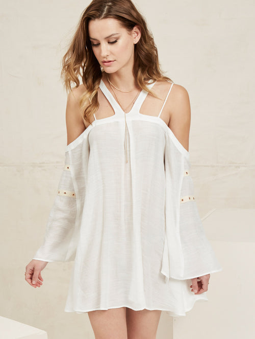 Corey Dress - Ivory