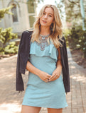 Harlow Dress - Blue