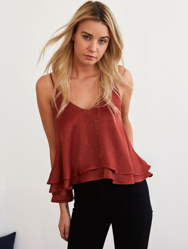Lexi Top - Copper