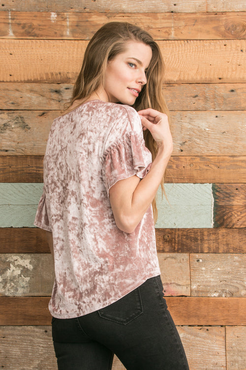 Brandi Top - Dusty Mauve