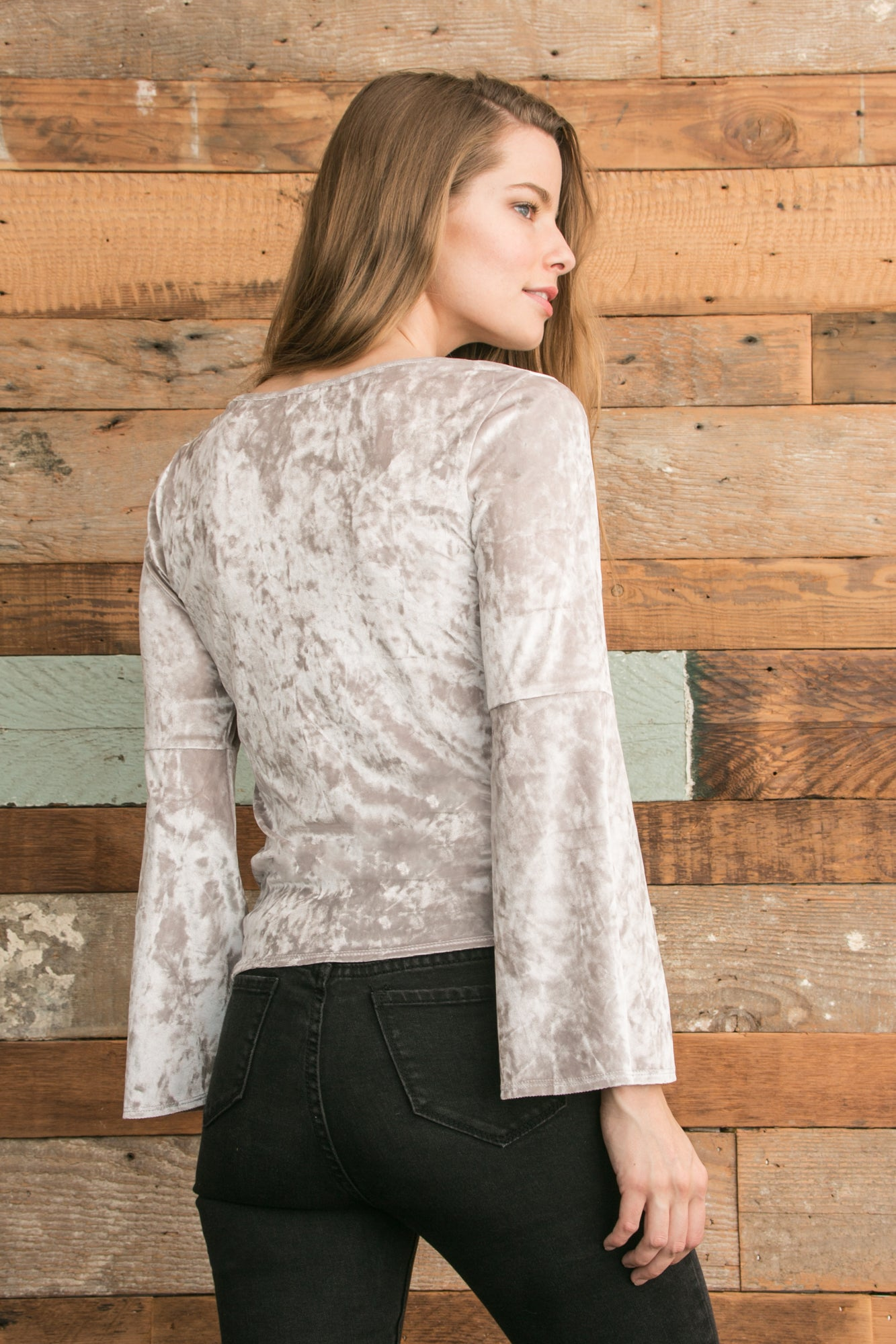 Holly Top - Silver