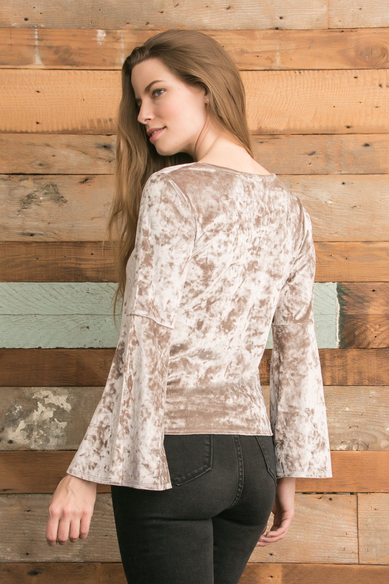 Holly Top - Taupe