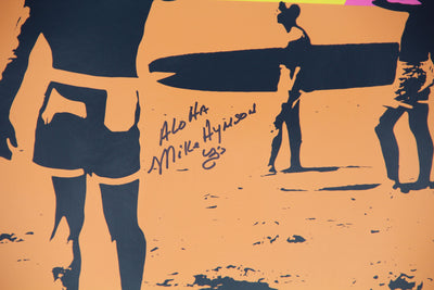 """Endless Summer"" Poster - Autographed by Mike Hynson or Unsigned Posters"