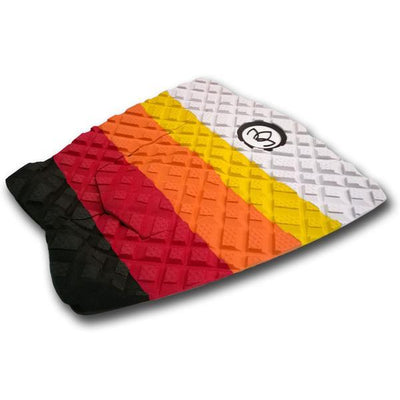 4WD 3 piece Traction Pad Fade Orange