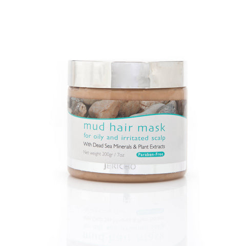 Mud Hair Mask for Oily and Irritated Scalp