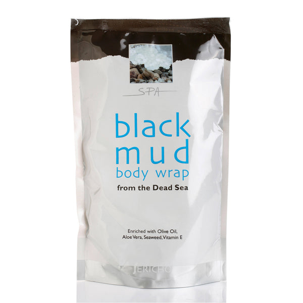 Dead Sea Mud Mask - Black Mud Body Wrap - Bag