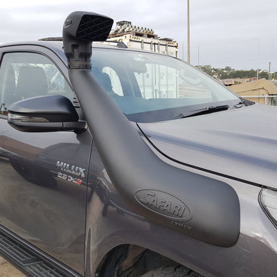SAFARI - Snorkel - SS123HP - To suit TOYOTA N80 Hilux 2015+ - MORE 4x4