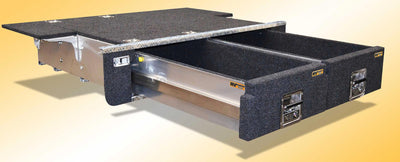 RV - Storage Solutions - Twin Drawers - Premium Alloy 100 Series - MORE 4x4