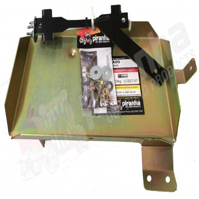 PIRANHA OFFROAD - Battery Tray - To suit  TOYOTA Prado 150 2.8CRDi - BTP150D2.8 - MORE 4x4