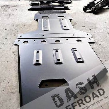 DASH OFFROAD - Underbody Guard Kit - To suit NISSAN Patrol Y62 - - MORE 4x4
