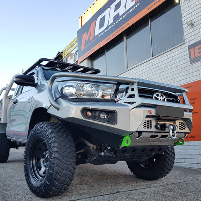 AFN 4x4 - Bullbar - To suit TOYOTA Hilux 09/2015+ - REVO with loops - MORE 4x4