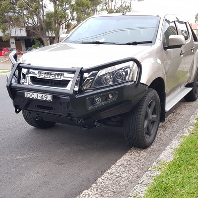 AFN 4x4 - Bullbar - To suit ISUZU DMax 2012 to 2016 - 48002201 - MORE 4x4