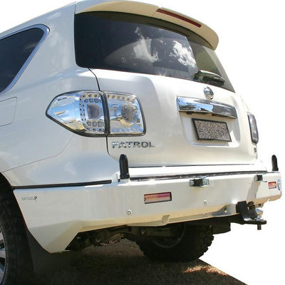 KAYMAR - Rear Bar - To suit NISSAN Patrol Y62 2017+ - MORE 4x4