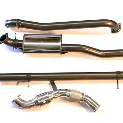 LEGENDEX - Exhaust - To suit FORD Ranger PX1 and PX2 WITHOUT DPF - MORE 4x4
