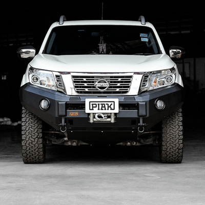 PIAK - Bullbar - To suit NISSAN Navara NP300 D23 - Non Loop Premium Winch Bar - MORE 4x4