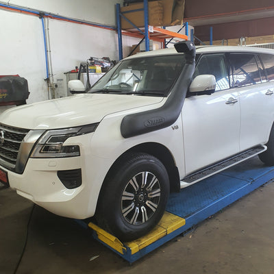 SAFARI - Snorkel - To suit NISSAN Y62 Patrol - SS62HF - MORE 4x4