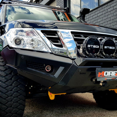 DASH OFFROAD - Predator Bumper - To suit NISSAN Y62 Patrol Series 1 to 4 - MORE 4x4