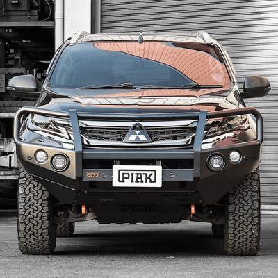 PIAK - Bullbar 3 Loop - To suit MITSUBISHI Pajero Sport 2016+ - MORE 4x4