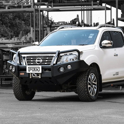 PIAK - Bullbar - To suit NISSAN Navara NP300 D23 - 3 Loop Premium Winch Bar - MORE 4x4