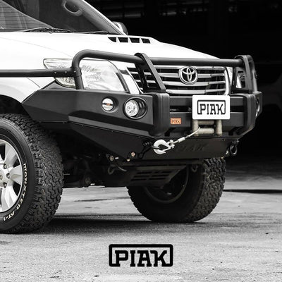 PIAK - Bullbar - To suit TOYOTA Hilux N70 2011 to 2015 - 3 Loop Bar - MORE 4x4