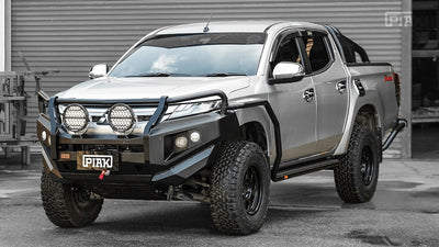PIAK - Bullbar - To suit MITSUBISHI Triton 2019+ - 3 Loop Premium Bar - MORE 4x4