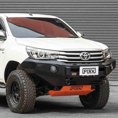 PIAK - Bullbar - To suit TOYOTA Hilux Revo winch compatible 2015 to 2018 - PK106STH15 - MORE 4x4