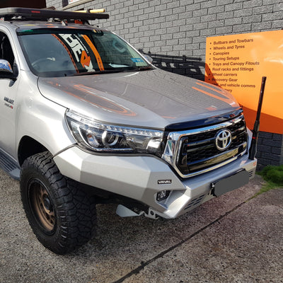 RIVAL 4x4 - Bumper - To suit TOYOTA Hilux N80 Facelift 2018+ - MORE 4x4