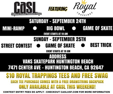 Royal Trappings & CASL