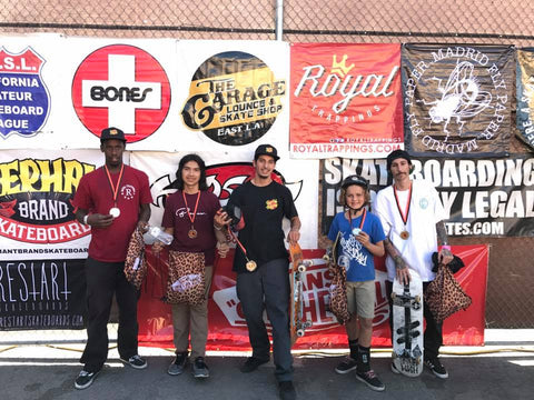 Jason Daron Royal Trappings Mini Ramp 1st 5th dCASL USF