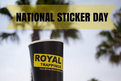 Royal Trappings National Sticker Day Pack Giveaway Free