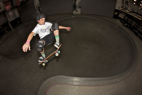 Royal Trappings Pro Skater Cory Juneau