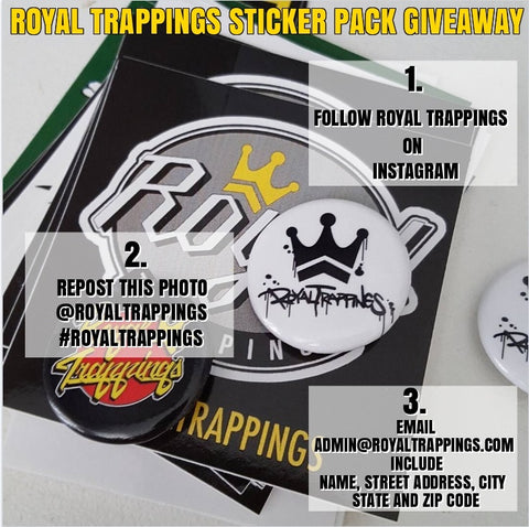 Royal Trappings RoyalTrappings Free Sticker Giveaway